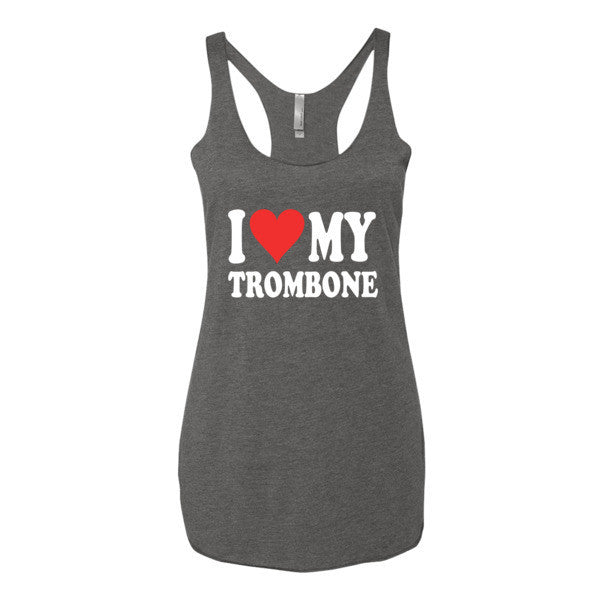 I Love My Trombone, Women's tank top