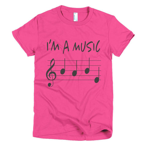Music Babe women's t-shirt