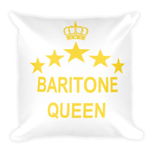 Baritone Queen Pillow