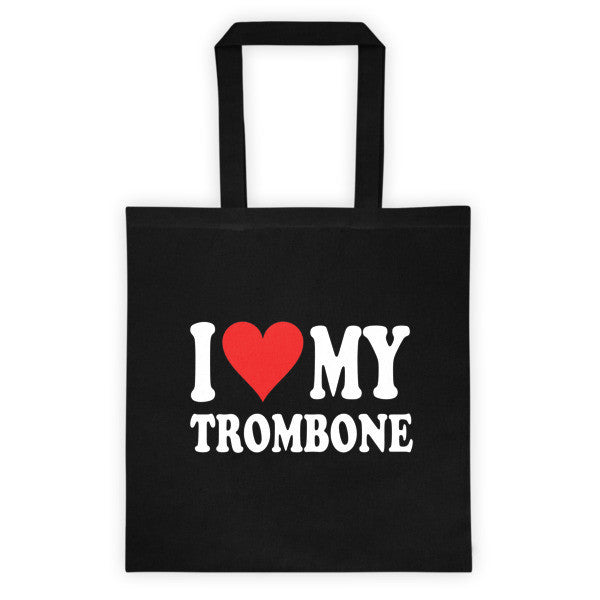 I Love My Trombone, Tote bag