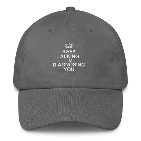 Image of Keep talking, I´m diagnosing you!, Cotton Cap