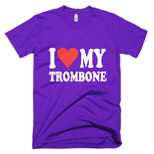 I Love My Trombone,  men's t-shirt