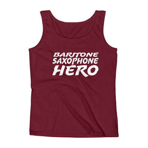 Baritone Saxophone Hero, Ladies' Tank