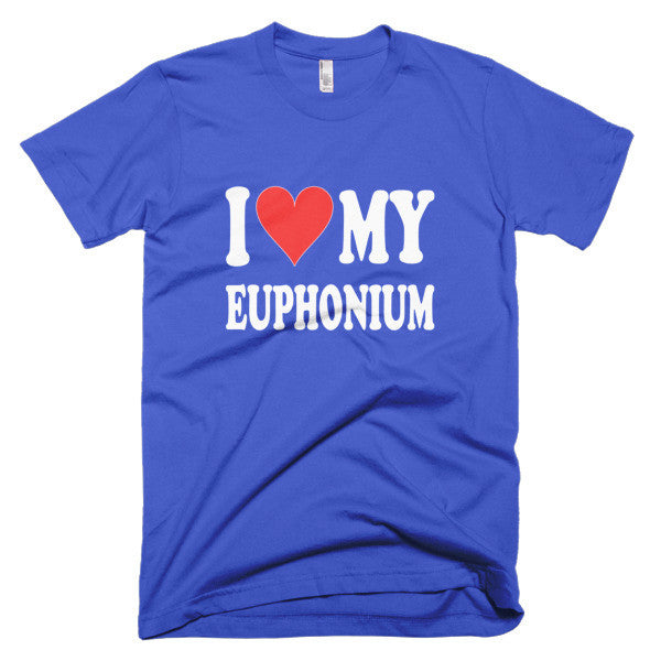 I Love My Euphonium, men's t-shirt