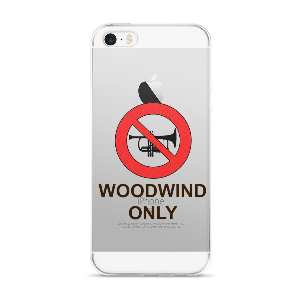 Woodwond Only iPhone case