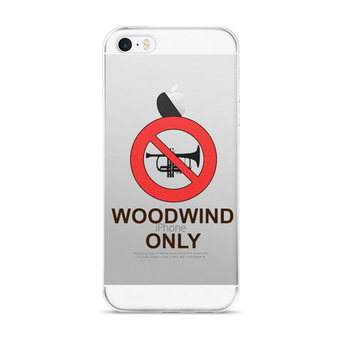 Image of Woodwond Only iPhone case