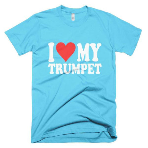 I Love My Trumpet, men's t-shirt