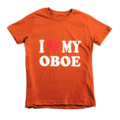 Image of I Love My Oboe, Childrens t-shirt