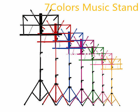 Niko Colourful Sheet Folding Music Stand Metal Tripod Stand Holder With Soft Case Free Shipping