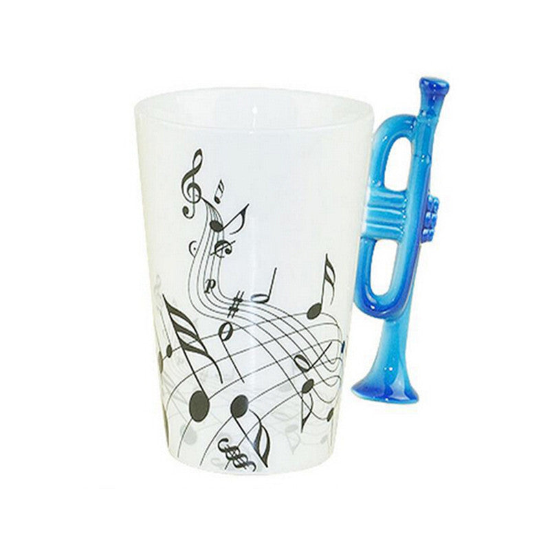 Trumpet,  Mug, Ceramic 300 ml. Free Shipping