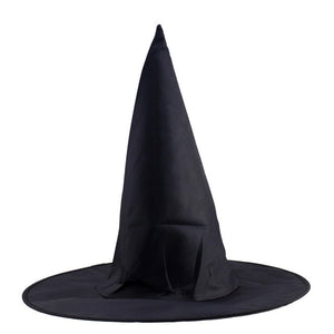Steeple Magic Hat Promotion Cool Adult Women Halloween Black Witch Hat Oxford Costume Party Props Harry Potters Cap Wholesale