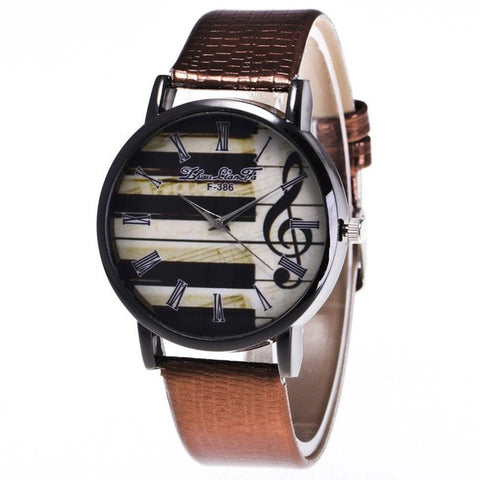 Piano & Treble Clef Wrist Sports Watch.