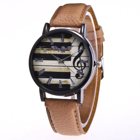 Women Wrist Watch Leather