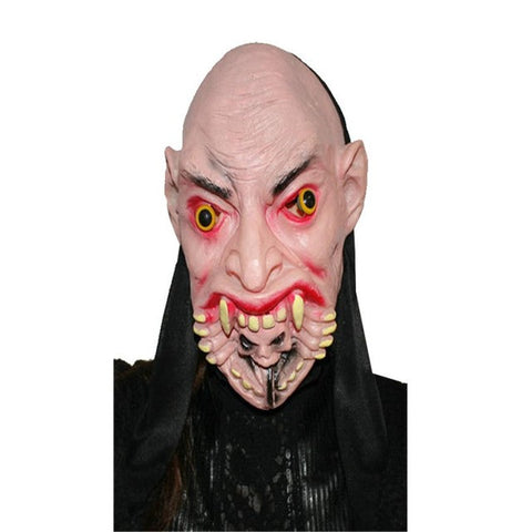 Image of Halloween Mask Head latex Rubber Mask Costume Theater Prop Terror Mask halloween decorations props party decoration supplies