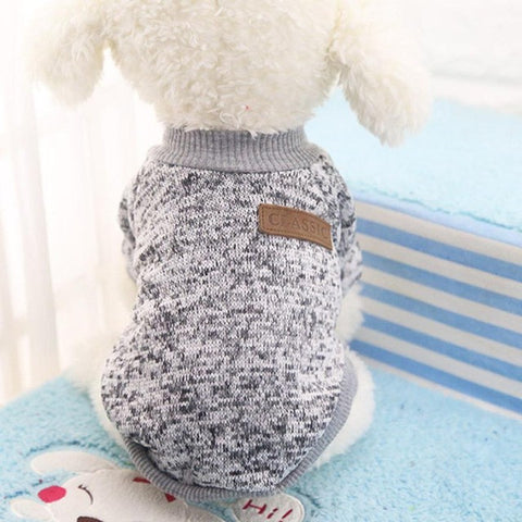 Pet dog clothes for small dogs. Winter warm coat - sweater for puppy chihuahua etc.