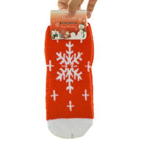 Women Snowflake 3D Cartoon Christmas Socks