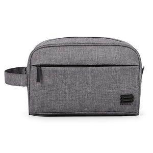 BAGSMART Toiletry Travel Bag Dopp Kit for men and women, Grey