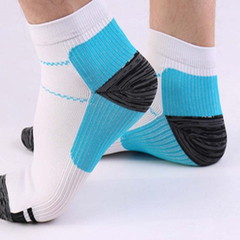 Image of 1 pair Unisex New Foot Compression Socks Breathable Socks