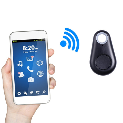 Image of Smart Finder GPS Locator Pet Tracker Alarm Wireless Bluetooth 4.0 Anti-lost Sensor Remote Selfie Shutter Seeker Itag for Kids Bag Wallet Keys Car SmartPhone