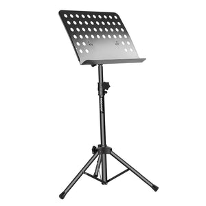 Neewer Collapsible Sheet Music Stand with Adjustable Height and 180 Degree Tray Tilt Bookplate,for Instrumental Performance