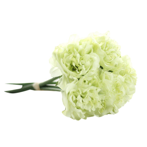 Image of Artificial Silk Fake Flowers Peony Floral Wedding Bouquet Bridal Hydrangea Decor