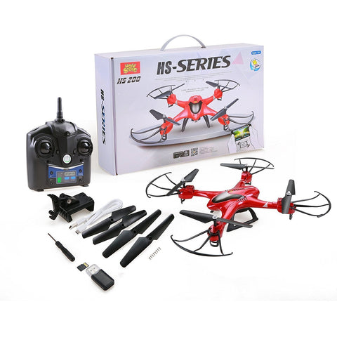 Holy Stone HS200 RC Drone with FPV HD Wifi Camera Live Feed 2.4GHz 4CH 6-Axis Gyro Quadcopter with Altitude Hold, Gravity Sensor and Headless Mode RTF Helicopter