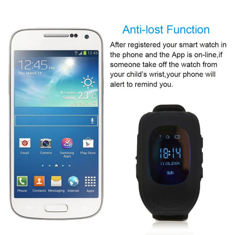 Q50 Smart Watch for Kids. Children LCD GSM GPRS Locator Tracker Anti-Lost phone support Kids Watch for IOS Android Without GPS