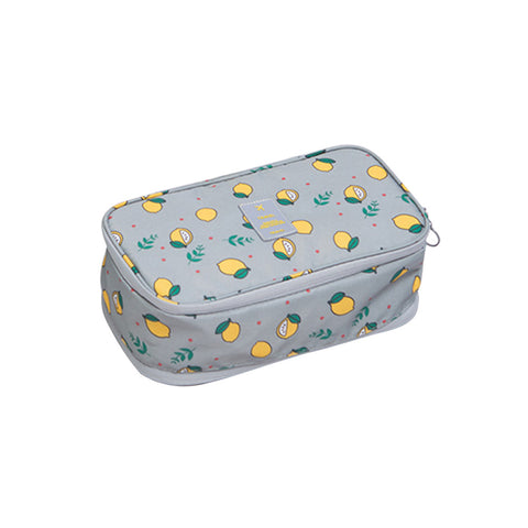Image of Portable Travel Organizer Bra Socks Underwear Cosmetic Toiletry Bag