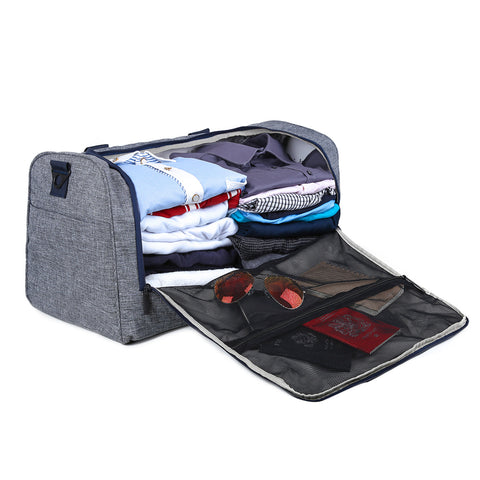 Image of BAGSMART New Travel Bag Large Capacity Men Hand Luggage Travel Duffle Bags Nylon Weekend Bags Multifunctional Travel Bags