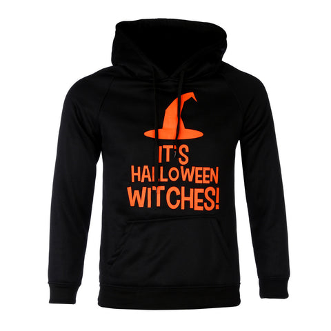 Mens Halloween Long Sleeve  Hoodie. Hooded Sweatshirt Tops Jacket Coat