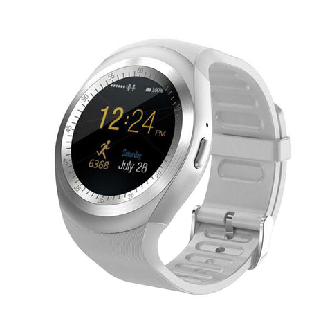 Y1 Bluetooth Touch Screen Smart Watch with Micro SIM TF Slot Wearable Devices For iOS Android Smartphone