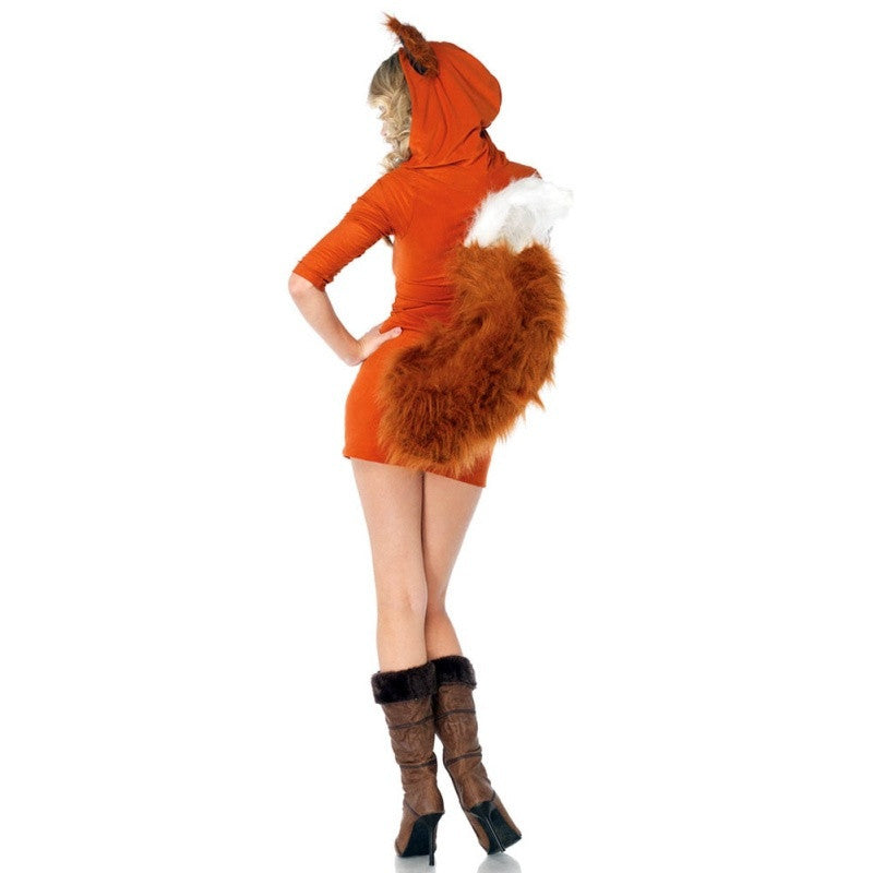 Halloween Ladies Sexy Fox Costume Animal Cosplay Party Fancy Dress