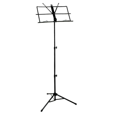 Image of SEWS-Folding Sheet Music Note Stand  with Bag (Color: Black)