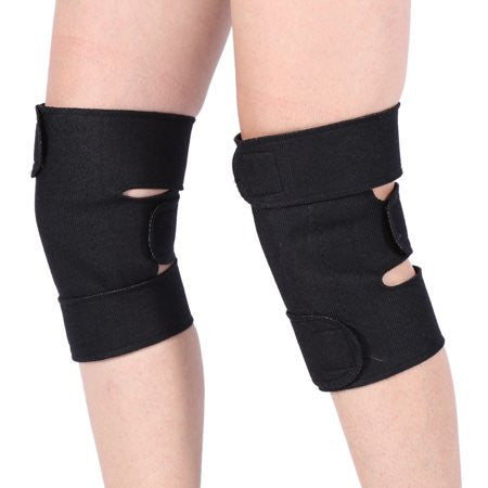 Image of 1 Pair Tourmaline Self-heating Magnetic Therapy Knee Protective Belt Arthritis Brace Support ,Knee Support, Self-heating Knee Brace