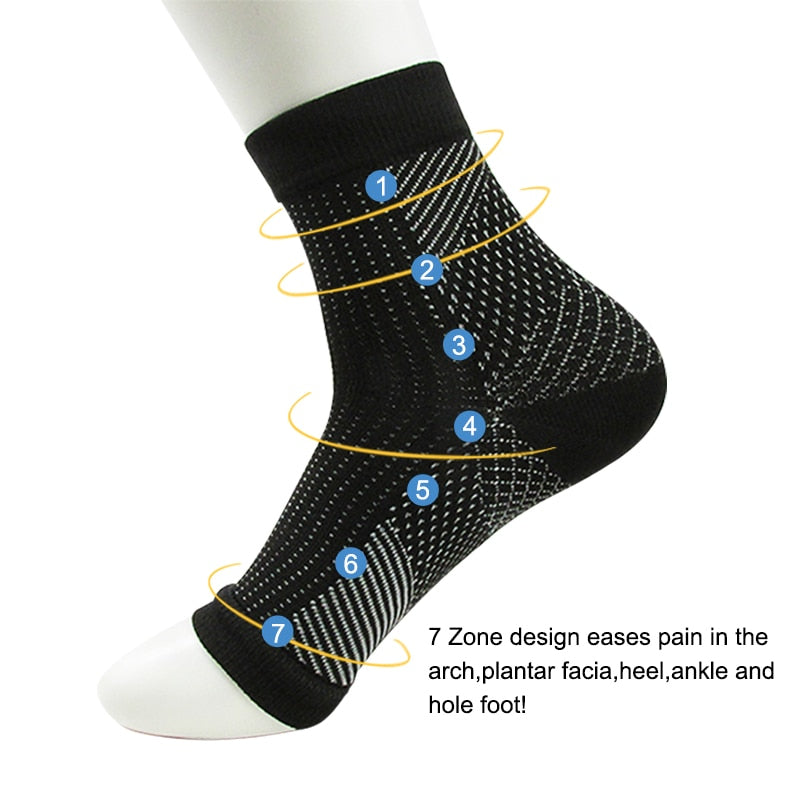 Comfort Foot Anti Fatigue Compression Socks.
