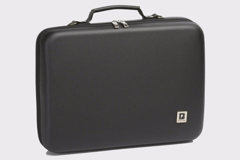 Image of PU Shaped Double Clarinet Case For A and Bb Clarinet
