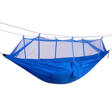 Portable Lightweight Parachute Nylon Camping Mosquito Nets Hammocks for Outdoor Hiking Travel Backpacking Style 12
