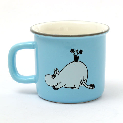 Image of 9 Styles Moomin Caneca Little My Lovely Gift Coffee Cups Milk Water Breakfast Copo Tea Cute Cartoon Sweet Love Teacup Travel Mug