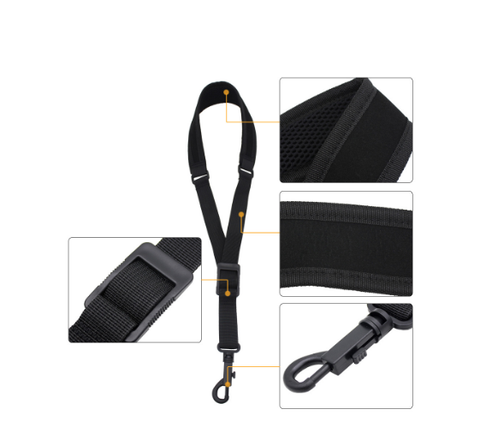Light-weight Adjustable Saxophone  Neck Strap