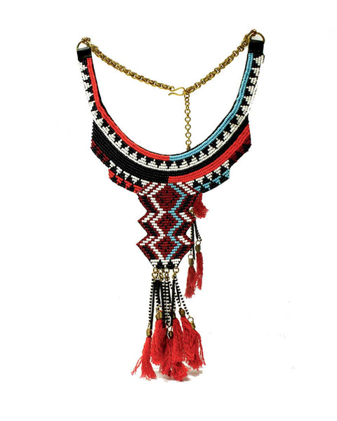 Bondo beaded Collar