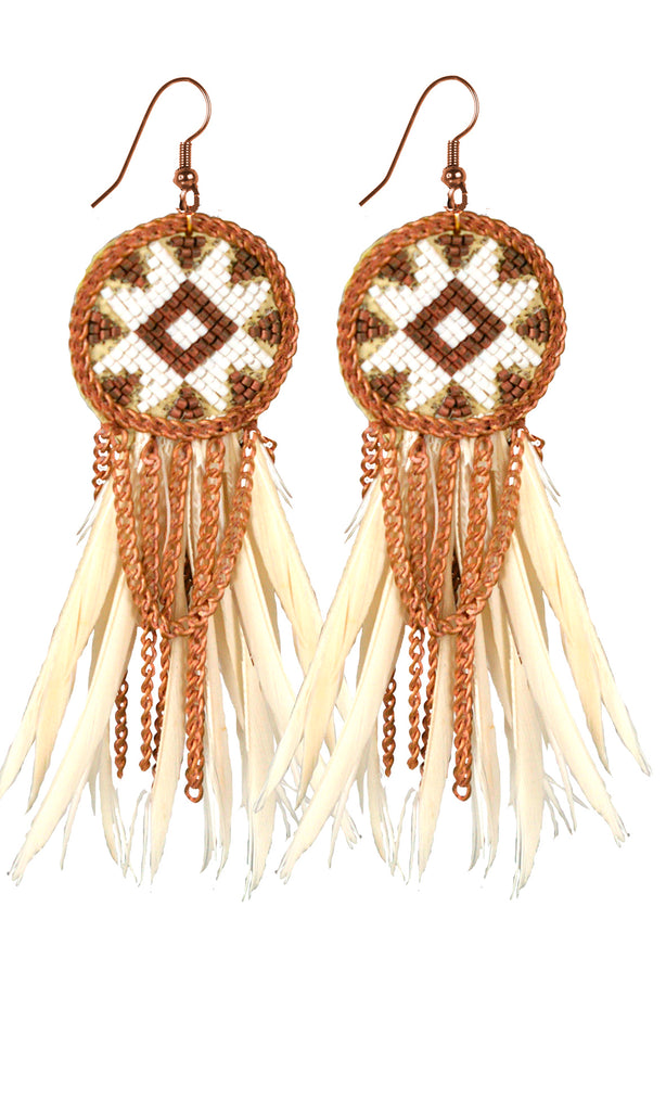 Dakota Feather Earrings