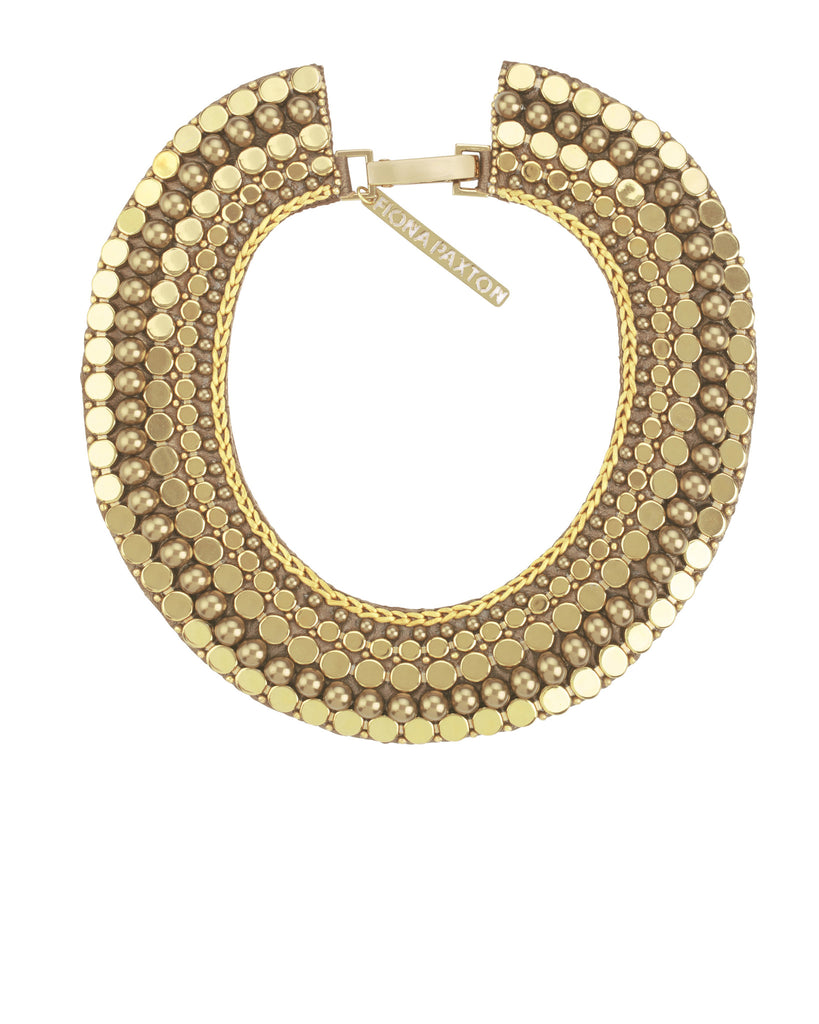 Edith Collar Necklace Gold