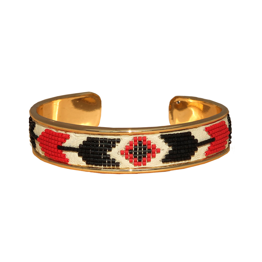 Elsie beaded bangle