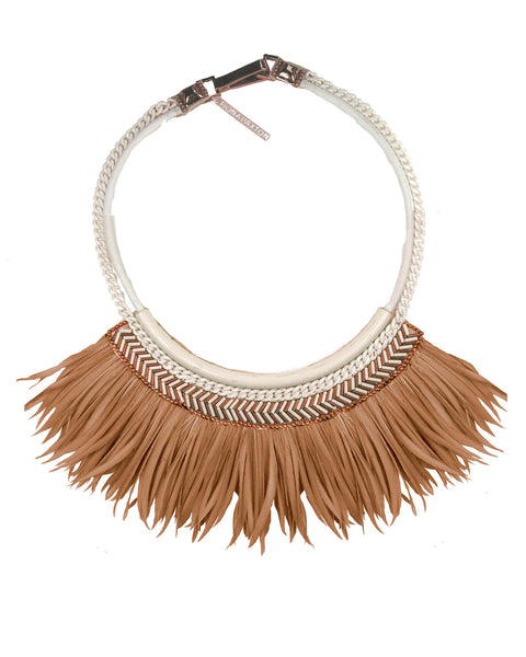 Freja collar rose gold