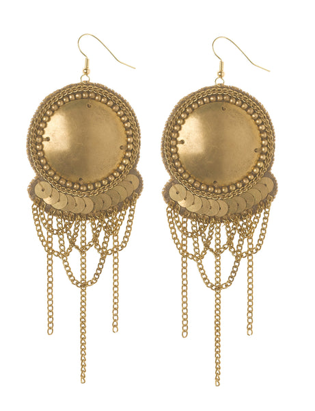 Gina gold earrings