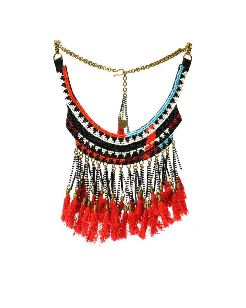 Juga beaded Collar
