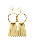 Myriam Fringed Earrings