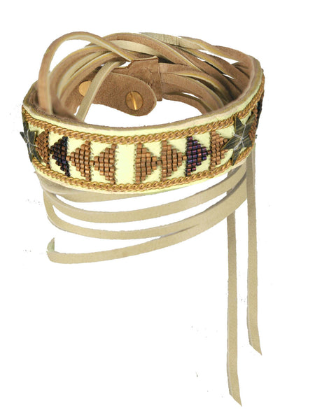Night gold double wrap cuff