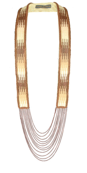 Emilia rose gold necklace