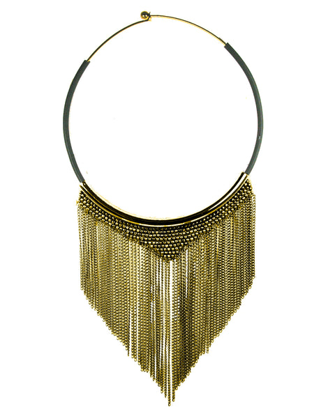Shade Necklace Gold